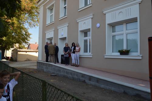 Slavnostní otevření budovy MŠ a DPS Slepotice